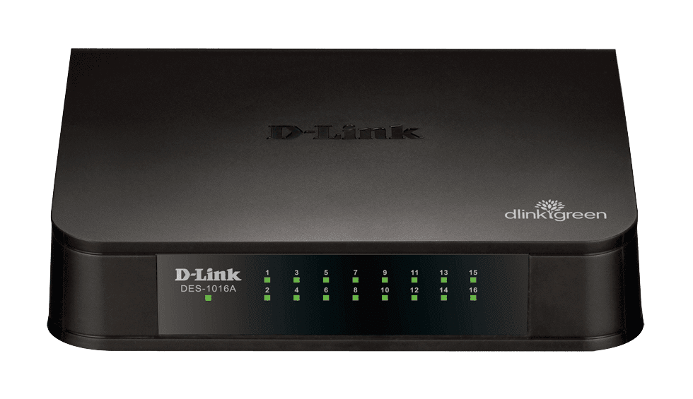 SWITCH 16P DES 1016A DLINK