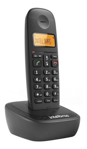 Telefone Fixo Intelbras Sem Fio TS2510 Preto