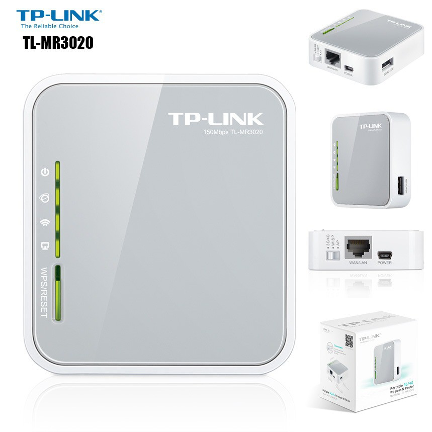 TP-LINK TL-MR3020 WIRELESS 3G 3,76G