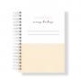 Caderno A5 Pautado Abacaxi
