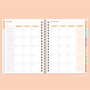 Planner Anual Permanente Girassol - Pronta Entrega