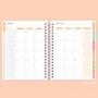 Planner Anual Permanente Listrado PB - Pronta Entrega