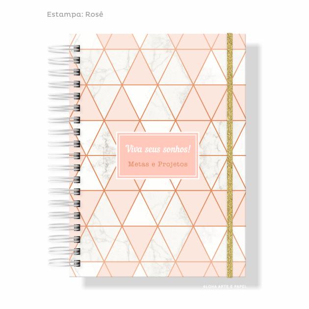 Caderno Metas e Projetos - Escolha a Capa
