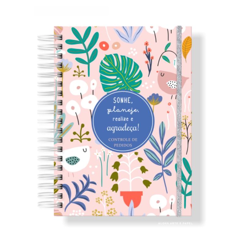 Caderno de Pedidos Passarinho