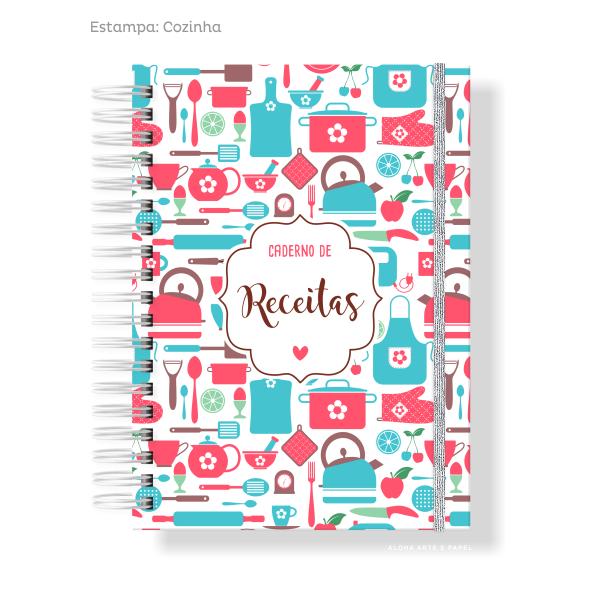 Caderno de Receitas - Escolha a Capa