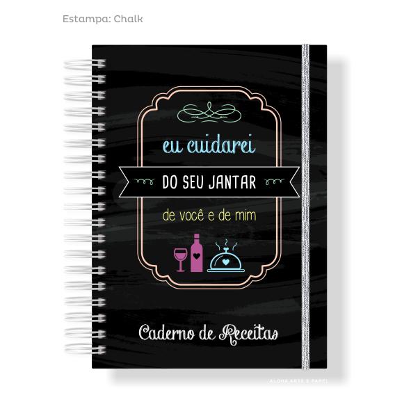 Caderno de Receitas Chalk