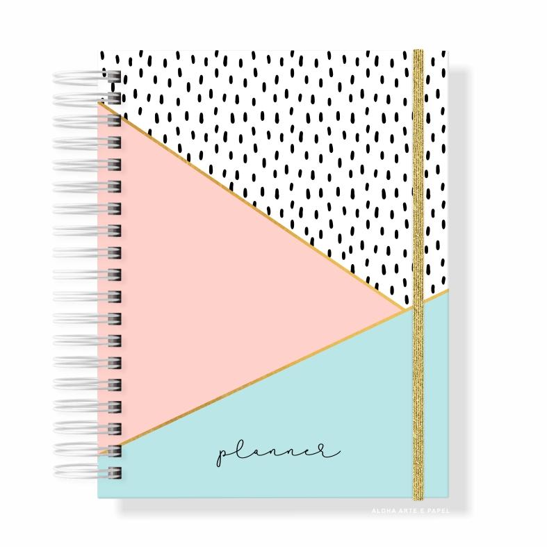 Planner Anual Permanente - Escolha a Capa