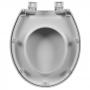 Assento Sanitário Astra Oval TOV/SC Soft Close Branco