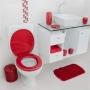Assento Sanitário Astra TPK/AS Bordô