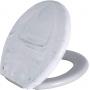 Assento Sanitário Astra TPK/AS Branco Marmorizado