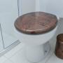 Assento Sanitário Astra TPK/AS Marrom Marmorizado