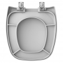 Assento Sanitário Celite Fit PP Plus Soft Close Cinza Prata