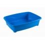 Caixa De Areia Pet Astra Azul