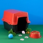 Casinha Plástica Astra 52x41x40 Vermelha