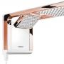 Chuveiro Lorenzetti Acqua Duo 220V 7800W Branco e Rose Gold