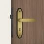 Fechadura Stam Interna 813/011 Espelho Oxidado