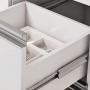 Gabinete MGM Prisma 1,50m Amêndoa/Off White