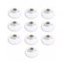 Kit Com 10 Plafons Porcelana Taschibra Branco