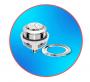 Kit Para Caixa Acoplada Completo Censi Universal Entrada Master Flux e Saída Dual Flush