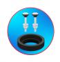 Kit Para Caixa Acoplada Completo Censi Universal Entrada Master Flux e Saída Pneumático 9544