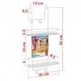 Porta Shampoo Duplo Box Arthi