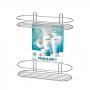 Porta Shampoo Duplo Com Ventosa Arthi
