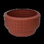 Vaso Diamantado Redondo Cipla Nº 3 Cerâmica