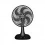 Ventilador Ventisol De Mesa Turbo 6 Pás Premium 30Cm 127V Preto