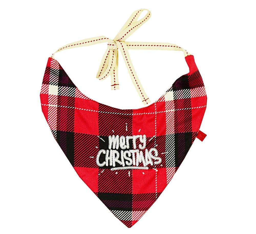 Bandana Dog Merry Christmas