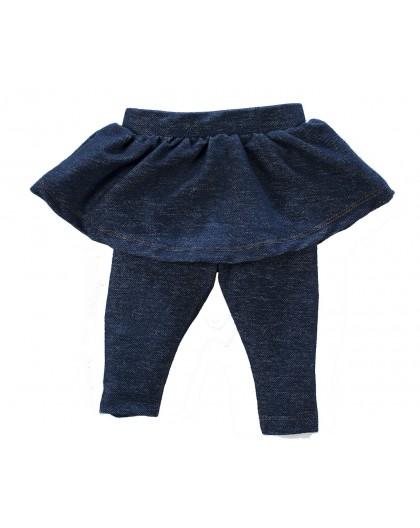 Calça Saia Cotton Jeans