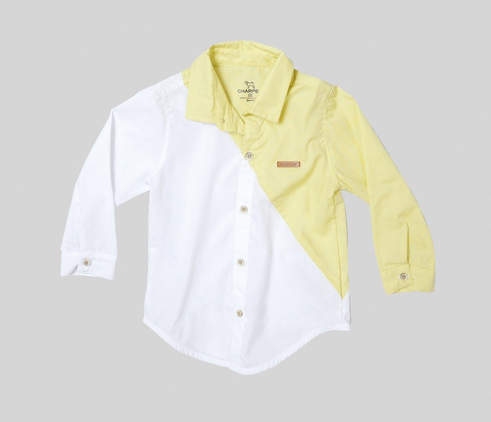 Camisa Bicolor