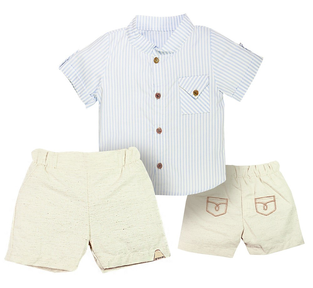 Conjunto Camisa Lisboa