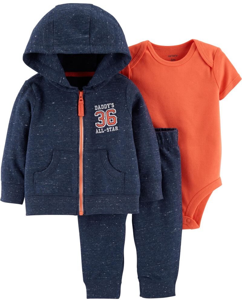 Conjunto Longo Jaqueta Daddy´s All-Star
