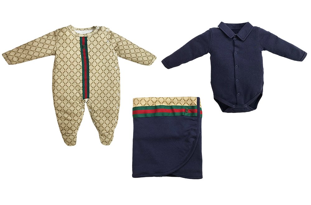Kit Newborn Orso Marinho