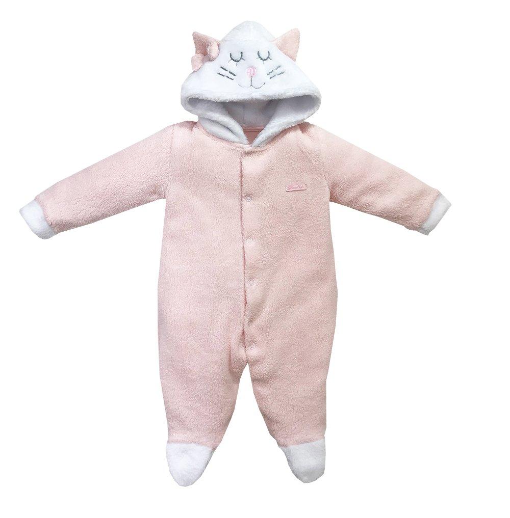 Macacão Pijama Unifloc Gatinha Dreams