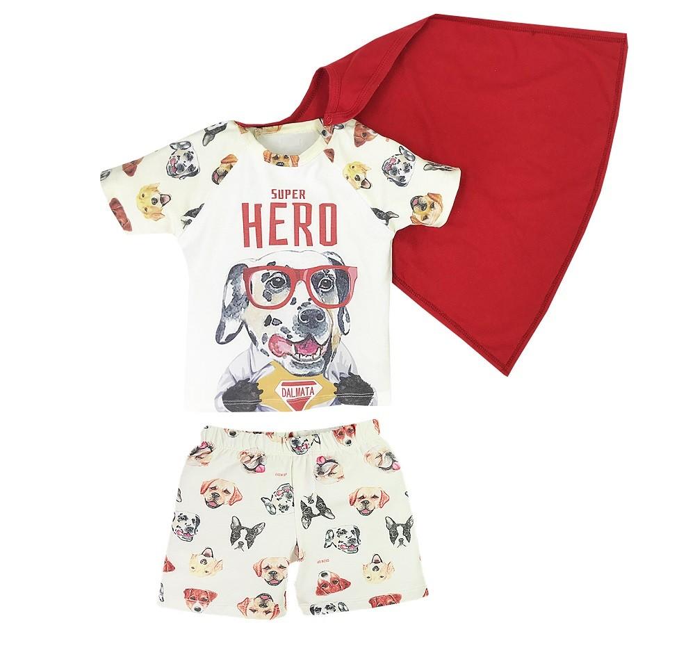 Pijama Dog Super Hero