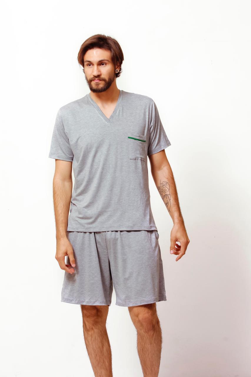 Pijama Homewear Mescla Masculino