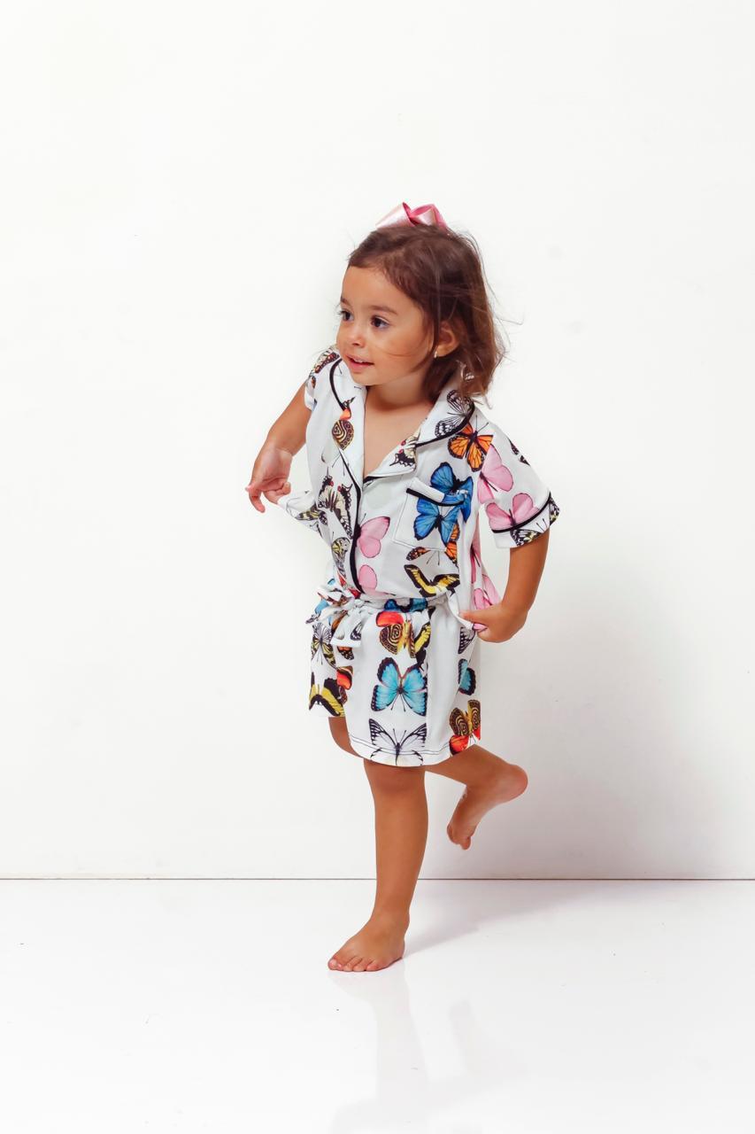 Pijama Homewear Borboleta Infantil