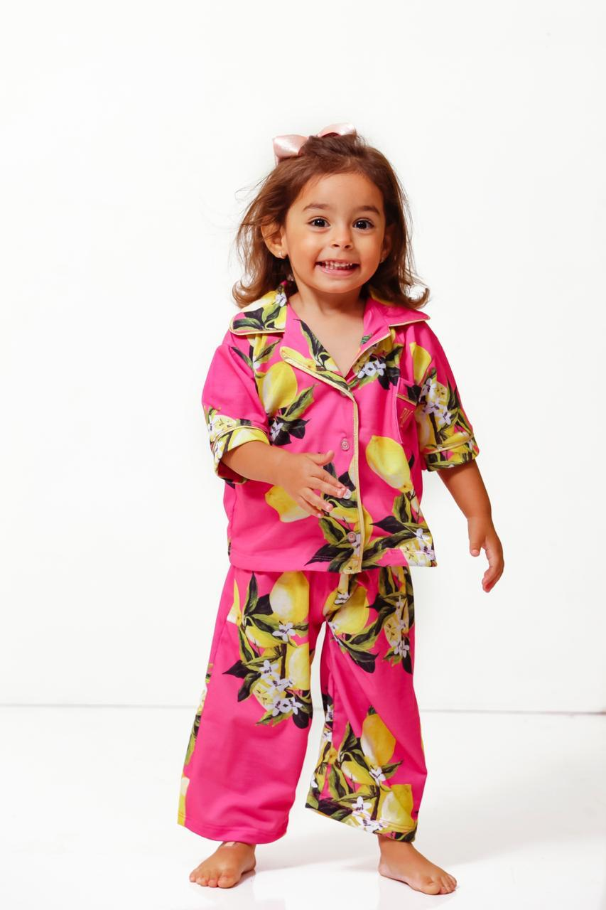 Pijama Homewear Limão Infantil