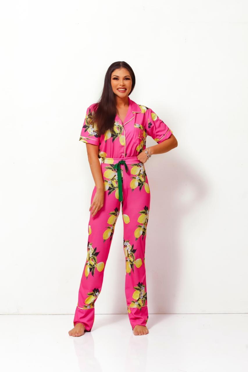 Pijama Homewear Limão Feminino