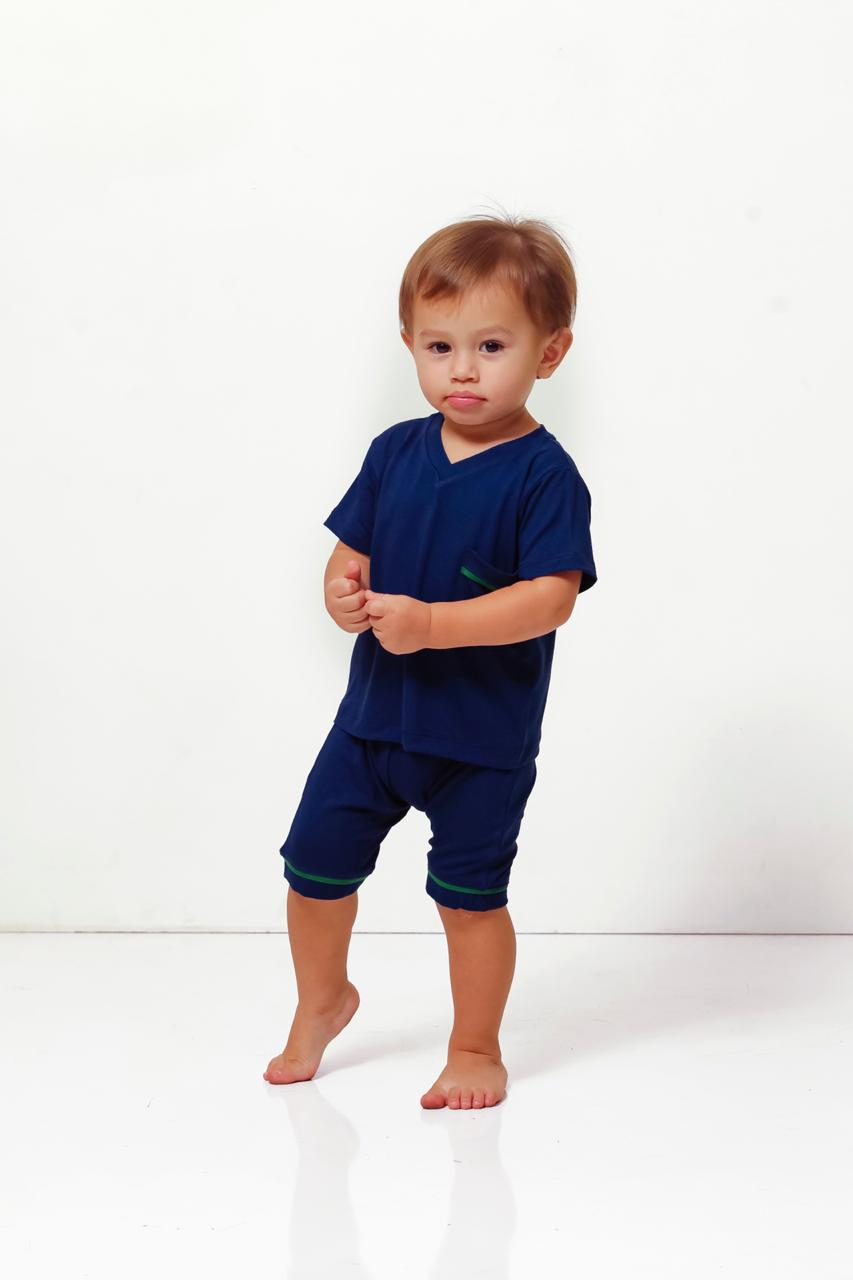 Pijama Homewear Marinho Infantil