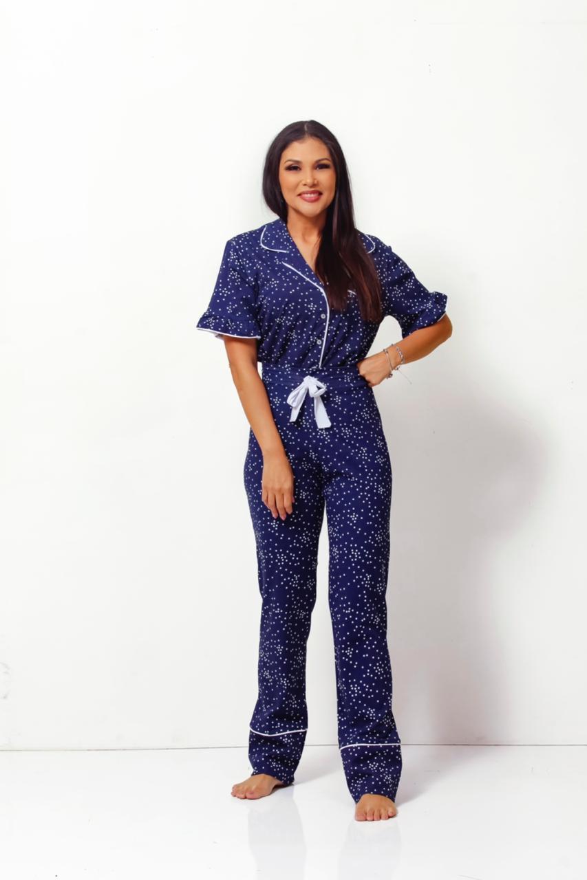 Pijama Homewear Marinho Feminino