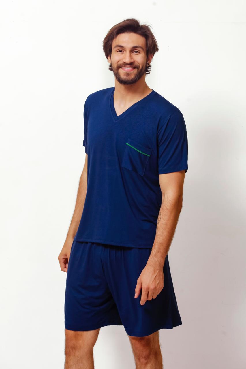 Pijama Homewear Marinho Masculino