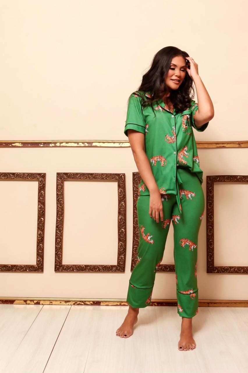Pijama Homewear Verde Feminino