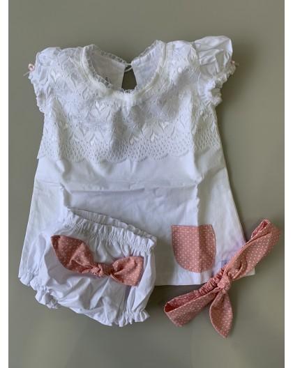 Vestido Boneca Metoo Branco