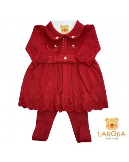 Vestido Furadinho Vermelho