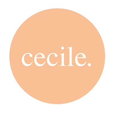 Cecile. Acessórios