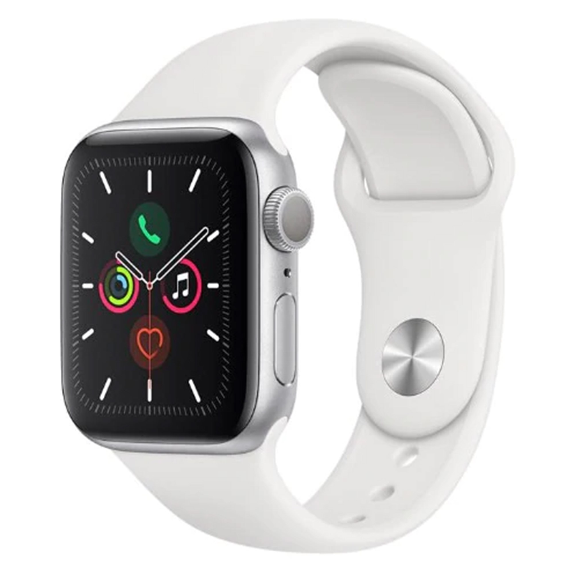 Apple Watch Series 5 GPS 44 mm Prata