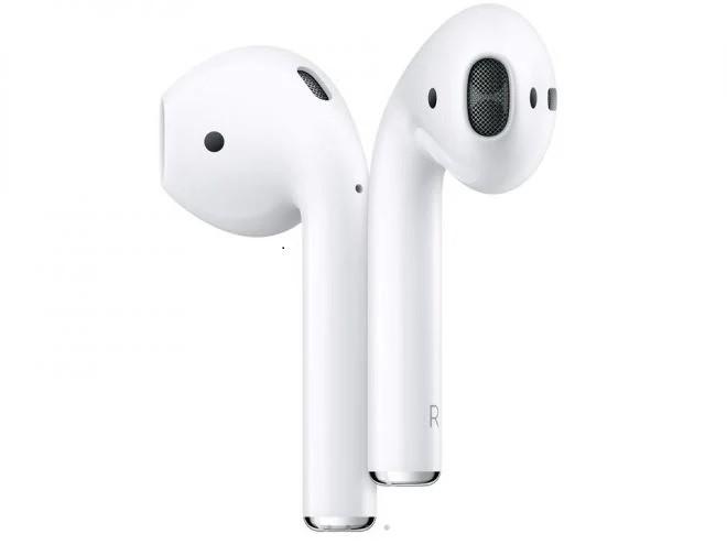 AirPod 2 Fone sem Fio iPhone - 2° Geração de AirPods com Estojo de Recarga