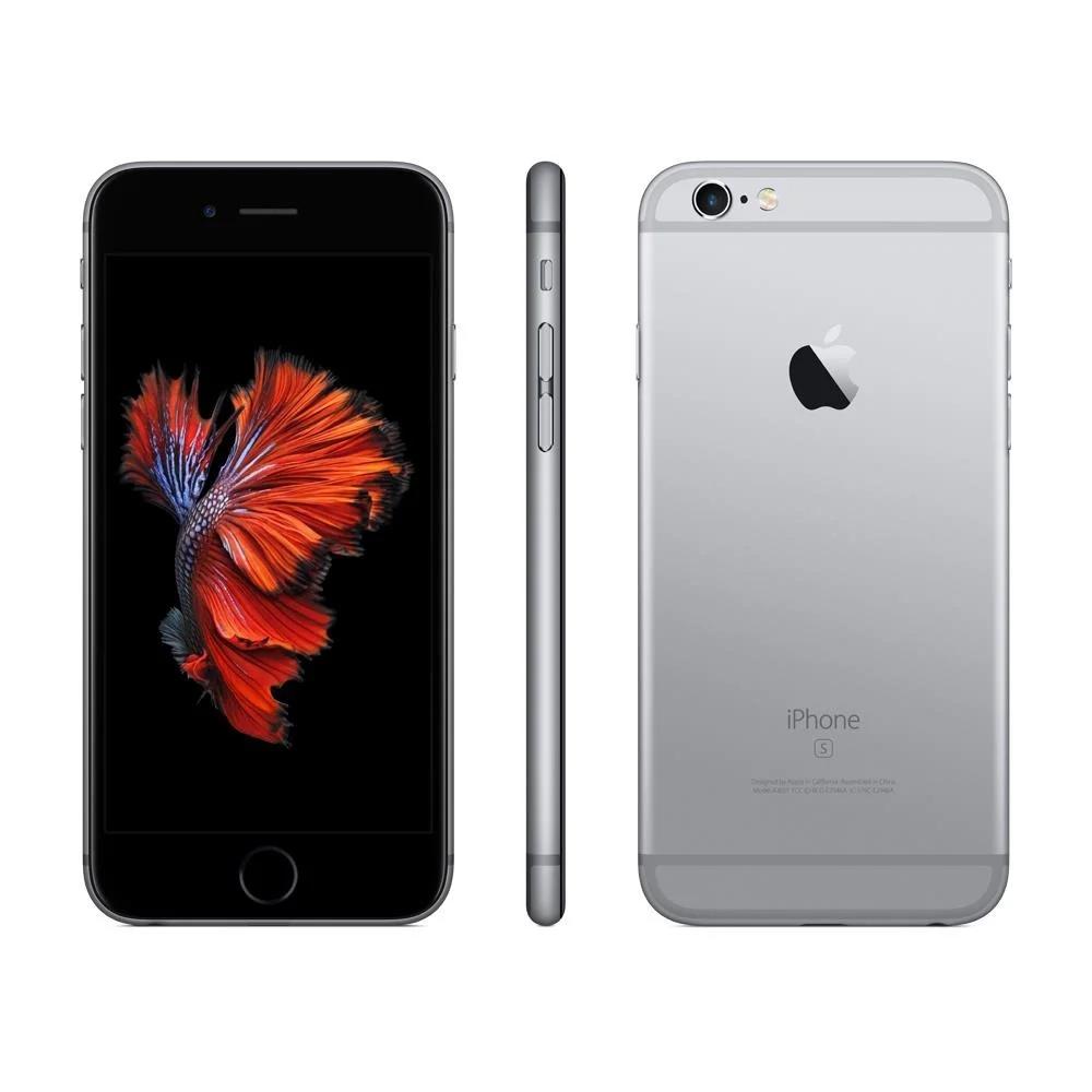 """iPhone 6s Apple 32 GB RAM 2 GB iOS 13 Câmera 12 Mp Tela 4.7"""" Usado"""